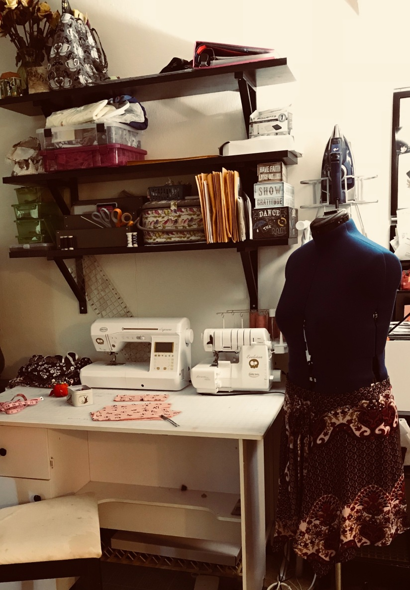 "My Sewing ""Room"""