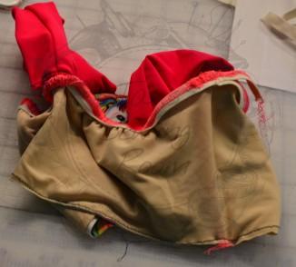 11 elastic sewn iwth serger wm